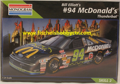 Monogram 2469 #94 Bill Elliot's McDonald's Thunderbat 1:24th scale kit