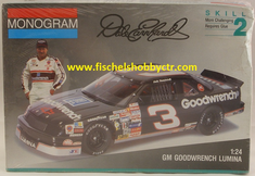 Monogram 2927 GM Goodwrench Lumina Dale Earnhardt Sr. 1/25th plastic kit