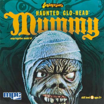 MPC 724 1/24 Glo-Head Mummy