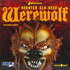 MPC 722 1/24 Glo-Head Werewolf