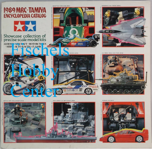 MRC - Tamiya 1989 Encyclopedia Catalog