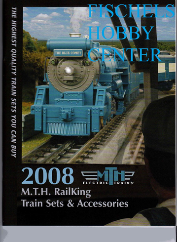 MTH 2008 train sets & accessories catalog