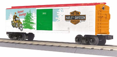 MTH 30-74637 Box Car - Harley Davidson (Season's Greetings) Car No. 2011