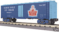 MTH 30-78003 Modern Reefer Car - North Pole Ice Cream