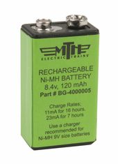 MTH 50-1008 Proto-Sound Battery 8.4v, 120 mAh RECHARGEABLE Ni-MH BATTERY