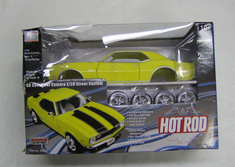 MWI63022 Hot Rod Die Cast Kit 68 Chevy Camaro Z 28 st