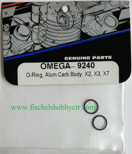 Omega 9240 O-ring for x2, x3, x7 Aluminum carbs