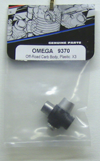 OMEGA 9370 Off-road Carb Body, Plastic: x3