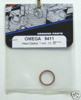 OMEGA 9411 Head Gasket 1mm x3 .26