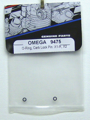 OMEGA 9475 O-ring, Carb Lock Pin: x1-r, x2