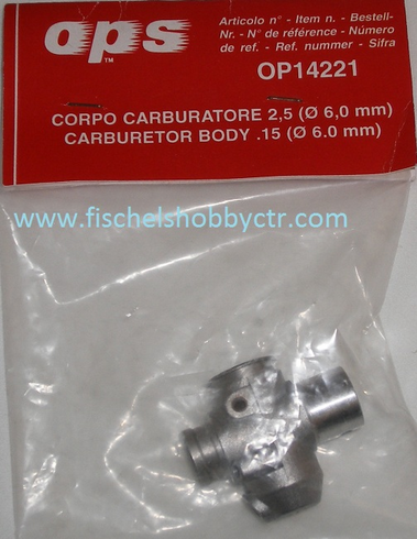 OPS OP14221 Corpo Carburator body .15