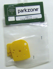 ParkZone PKZ1114 Firewall with screws J-3 Cub