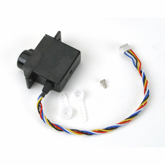 Parkzone PKZ1070 Mini Servo (5W) with Arms, Short Lead