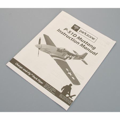 ParkZone PKZ1515 Instruction Manual:P-51D