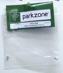 ParkZone Pkz1536 Motor Screws (2): P-51D