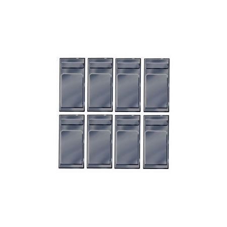Peco OR-55 On30 Coach Window Blanks (8)