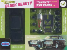 Polar Lights 884 884/12 1/32 Green Hornet Black Beauty Slot Car Race