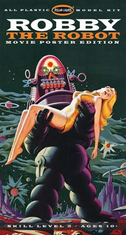 Polar Lights 893 POL893/12 1/12 Forbidden Planet Robby The Robot/Altaira