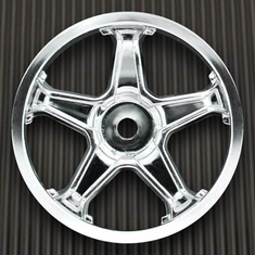 Pro-line 2677-41 Attack 26mm Wheel, Chrome (4)