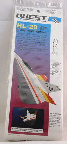 Quest 2008 HL-20 Lifting Body Rocket kit