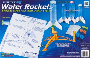 Quest 7324 All-Inclusive 6 Water Rocket Class Pack