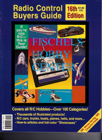 Radio Control buyers guide 16th edition 1992