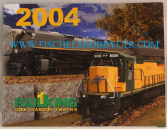 Rail King #1 gauge 2004 catalog