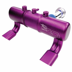RD Logic RDL61730XPP Twin Exhaust Pipe w/Dual Stingers, Purple: Savage