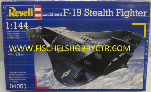 Revell 04051 1:144 F-19 Stealth fighter