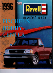 Revell 1996 model kit catalog
