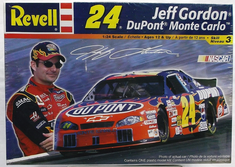 Revell 85-2179 #24 Jeff Gordon DuPont Monte Carlo NASCAR 1:24th scale kit