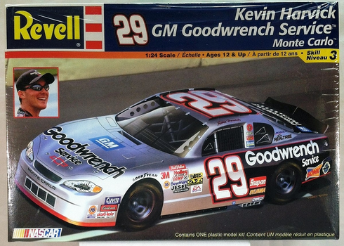 Revell 85-2396 Kevin Harvick #29 Goodwrench Service Monte Carlo 1:24th scale Kit