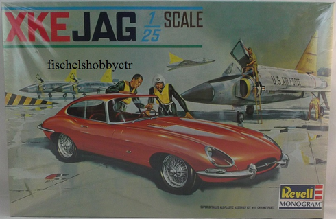 Revell Monogram 0556 XKE Jag 1:24th scale model kit