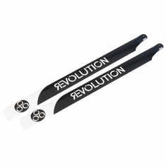 Revolution RVOB060050 600mm Flybarless 3D Carbon Main Blades