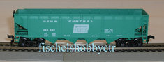 Roco 5272 Penn Central open hopper car # 258601 HO RTR