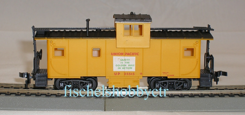 Roco Union Pacific # 25515 Extended Vision Safety Caboose HO RTR