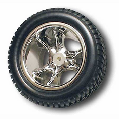 RPM 81813 Front wheels Clawz 6-Spoke Chrome:Nitro ST,RU