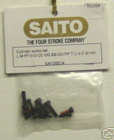 Saito 120s14 Cylinder Screw set