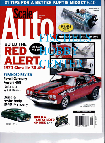 Scale Auto October 2011 model magazine