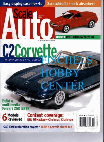 Scale Auto Octobet 2004 model magazine