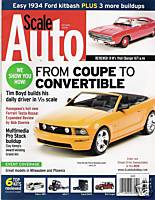 Scale Auto October 2008 Orange Mustang cover