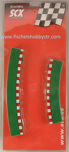 SCX 87960 Long Wide Outer curve borders ( 4+4 )