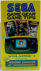 Sega Game Gear Tips Volume 1 VHS