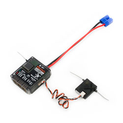 Spektrum SPMAR7110R AR7110R 7-Ch DSMX Heli Receiver with Rev Limiter