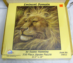 Sunsout jigsaw 550 piece puzzle Eminent Domain # 59011