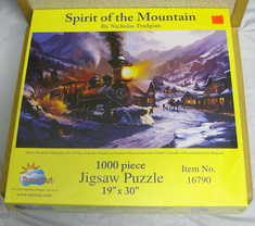 Sunsout jigsaw 1000 piece puzzle Spirit of the Mountain #16790