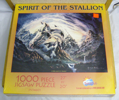 Sunsout jigsaw 1000 piece puzzle Spirit of the Stallion JN 54601