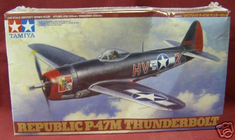 Tamiya 61096 Aircraft Series # 96 Republic p-47M Thunderbolt