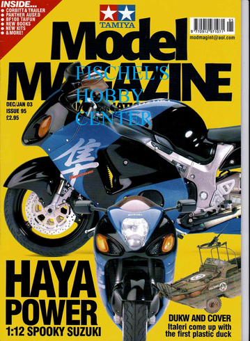 Tamiya Model Magazine dec/jan 03 issue 95
