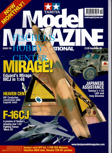 Tamiya Model Magazine December 04 issue 110